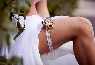 Bielizeň/Plavky - Svadobný podväzok\