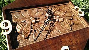 Hodiny - Nástenné hodiny Včely - 8553644_