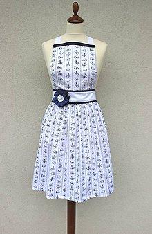 Iné oblečenie - zástera Biela - 8553131_
