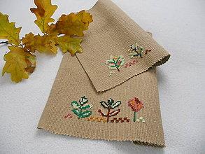 Úžitkový textil - Farby opadaného lístia (prestieranie) - 8551671_