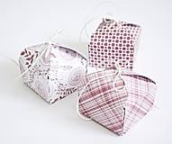 Krabičky - 3 Krabičky - ružové - 8551571_