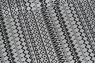 Textil - Látka Mozambik čb - 8550688_