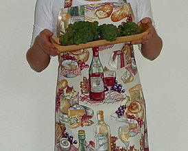 Iné oblečenie - Zástera Francúzska kuchyňa - 8553832_