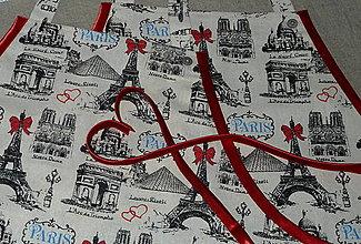 Iné oblečenie - Zásterka Paríž - 8553925_