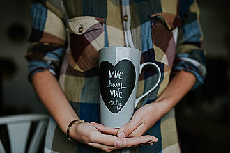 Nádoby - Viac kávy,viac sily - 8550667_
