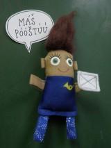 Magnetky - Poštárka Tarka - 8551441_
