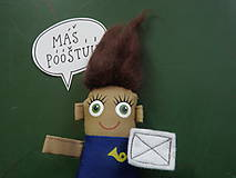 Magnetky - Poštárka Tarka - 8551443_