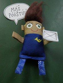 Magnetky - Poštárka Tarka - 8551451_