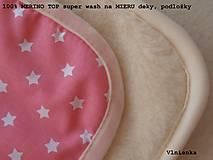 Textil - Spací pytel pro deti a miminka na míru zimní 100% ovčie rúno MERINO TOP super wash S/M/L/XL/XXL ružový - 8550812_