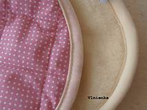 Textil - Spací pytel pro deti a miminka na míru zimní 100% ovčie rúno MERINO TOP super wash S/M/L/XL/XXL ružový - 8550822_