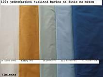 Textil - Ovčie rúno Detský spací vak na zimu 100% MERINO TOP super wash bledomodrý - 8550830_
