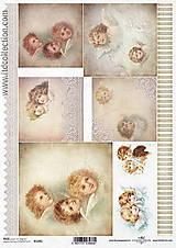 Papier - Ryžový papier Anjeli - 8553548_