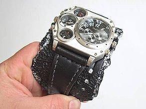 08ac07b66 Náramky - Pánske štýlové hodinky, antialergický remienok - 8553744_