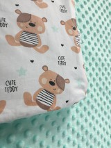 Textil - mackova deka - 8551928_
