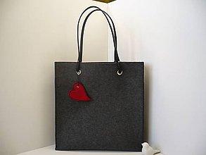 Veľké tašky - Taška, Kabelka 100% vlněná plsť - 8552891_