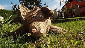 Hračky - Háčkované zvieratká a hračky - 8550708_