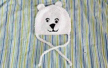 Čiapky - Háčkovaná čiapka pre deti - 8550642_