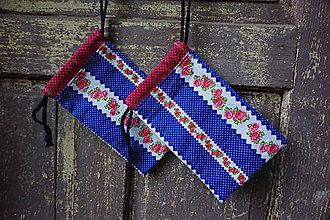 Úžitkový textil - vrecúško 2 - 8551547_