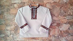 Detské oblečenie - Chlapčenská košeľa - 8553600_