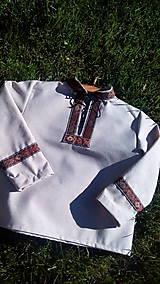 Detské oblečenie - Chlapčenská košeľa - 8553601_
