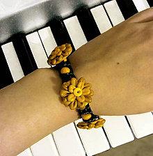 Náramky - Kvet luxusný - shamballa náramok - 8554070_