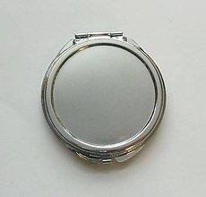 Komponenty - Zrkadielko s lôžkom - priemer lôžka 5 cm - 8555551_