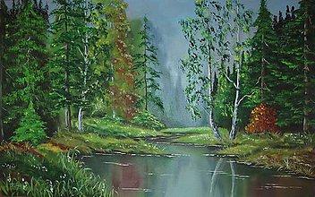 Obrazy - V lese - 8554845_