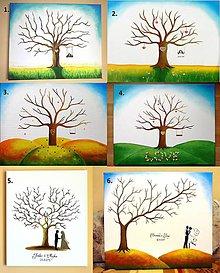 Obrazy - Svadobné stromy - 50x60 cm - 8555062_