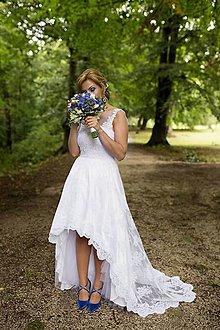 Šaty - svadobné šaty Kika / biele - 8556126_