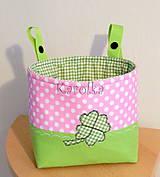 Detské tašky - Košík / taška na bicykel - BikeBag štvorlístok - 8555838_