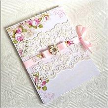 Papiernictvo - Svadobný obal na dvd - 8555744_