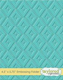 Pomôcky/Nástroje - Embosovacia kapsa - Ikat - 8556304_