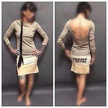 Šaty - Kapsy vzadu - 8555977_