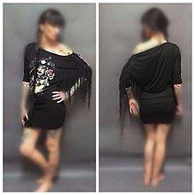 Šaty - Black lady - 8556011_