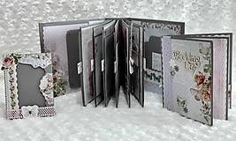 Papiernictvo - Svadobné leporelo - romantika s motýlikmi - 8557442_