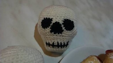 Dekorácie - Halloweenska lebka - 8557322_