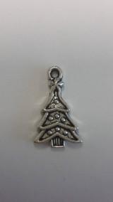 Prívesok strieborný vianočný stromček 1,8 x 1,3 cm