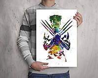Grafika - Wolverine X-man - 8555788_