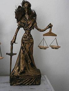 Socha - Bohyňa spravodlivosti-Justícia - 8554577_
