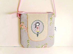 Detské tašky - Len ja a môj svet - kabelka pre malú slečnu IV. - 8554611_