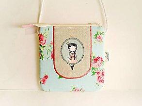 Detské tašky - Len ja a môj svet - kabelka pre malú slečnu III. - 8554617_