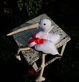 Hračky - Šitý bocian - 8555779_