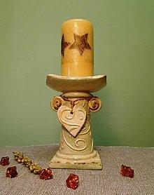 Svietidlá a sviečky - Svietnik Provance 2 - 8556099_