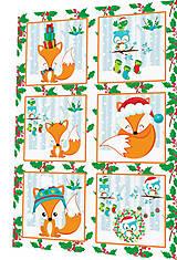 Textil - BAVLNĚNÝ PANEL - SADA 30 x 45 cm 4DG86 - 8560064_