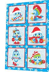 Textil - BAVLNĚNÝ PANEL - SADA 30 x 45 cm 4DG83 - 8560085_