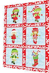 Textil - BAVLNĚNÝ PANEL - SADA 30 x 45 cm 4DG82 - 8560088_