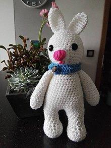 Hračky - Malý zajko Abe - 8558744_