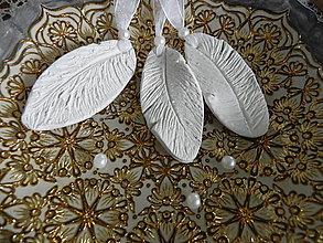 Dekorácie - Vianočné anjelské pierka:-) - 8559417_