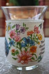 Váza - poľné kvety