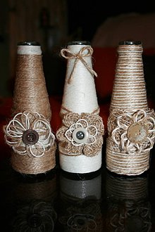 Dekorácie - Mini vázy - 8560307_